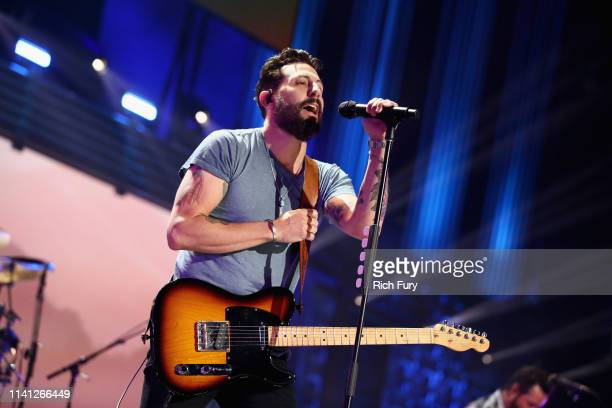 Matthew Ramsey of Old Dominion performs onstage during the 2019 iHeartCountry Festival Presented by Capital One at the Frank Erwin Center on May 4...