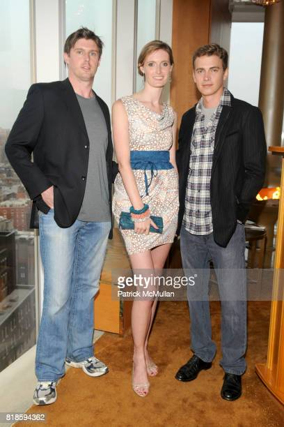 Matthew Reeve Alexandra Reeve Givens and Hayden Christensen attend CHRISTOPHER DANA REEVE Foundation DIOR BEAUTY Host Reeve Champions Summer Party at...