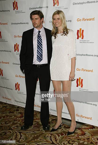 Matthew Reeve and Alexandra Reeve during 3rd Annual Los Angeles Gala for the Christopher and Dana Reeve Foundation at Century Plaza Hotel in Century...