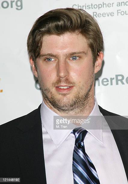 Matthew Reeve during 3rd Annual Los Angeles Gala for the Christopher and Dana Reeve Foundation at Century Plaza Hotel in Century City, California,...