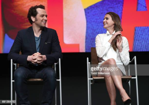 Matthew Rhys and Keri Russell attend FX's 'The Americans' For Your Consideration Event at Saban Media Center on June 1 2017 in North Hollywood...