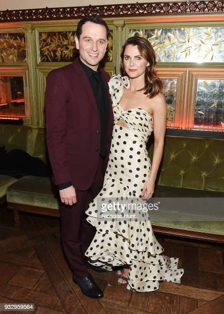 Matthew Rhys and Keri Russell attend 'The Americans' Season 6 Premiere After Party at Tavern On The Green on March 16 2018 in New York City