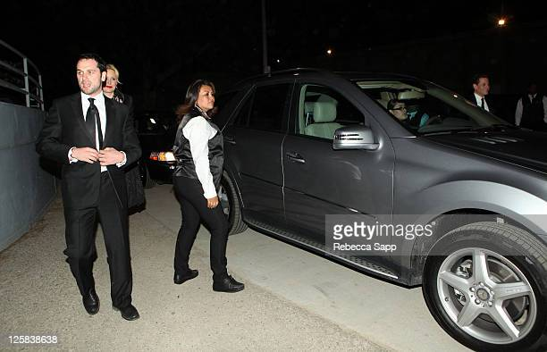 """Matthew Rhys arrives at The Art Of Elysium Fourth Annual Black Annual Black Tie Charity Gala """"Heaven"""" at the Annenberg Building on January 15, 2011..."""