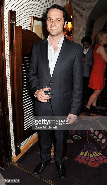Matthew Rhys attends a private dinner hosted by GQ editor Dylan Jones and Tracey Emin to celebrate London Collections Men Spring/Summer 2014 at...