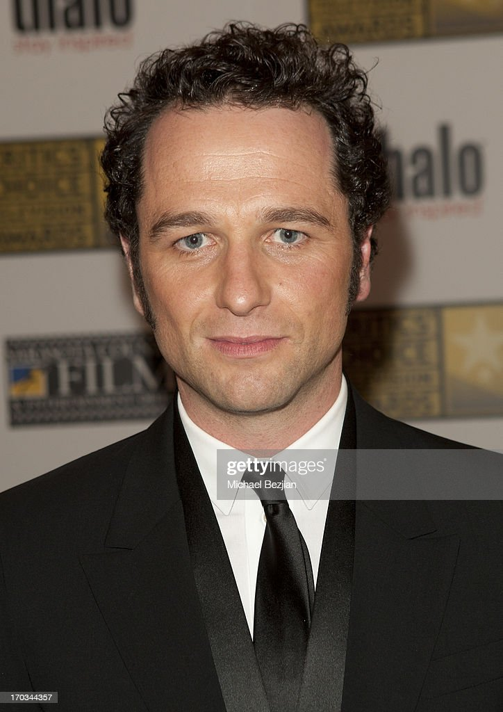 Matthew Rhys attends Critics' Choice Television Awards VIP Lounge on June 10, 2013 in Los Angeles, California.