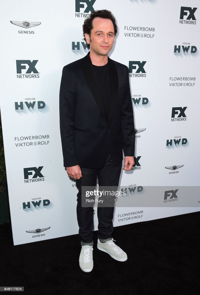 Matthew Rhys attends FX and Vanity Fair Emmy Celebration at Craft on September 16, 2017 in Century City, California.