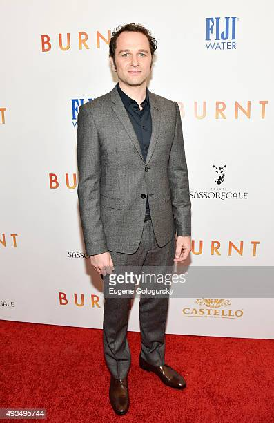 Matthew Rhys attends The New York Premiere Of BURNT Presented By The Weinstein Company And FIJI Water at MOMA on October 20 2015 in New York City