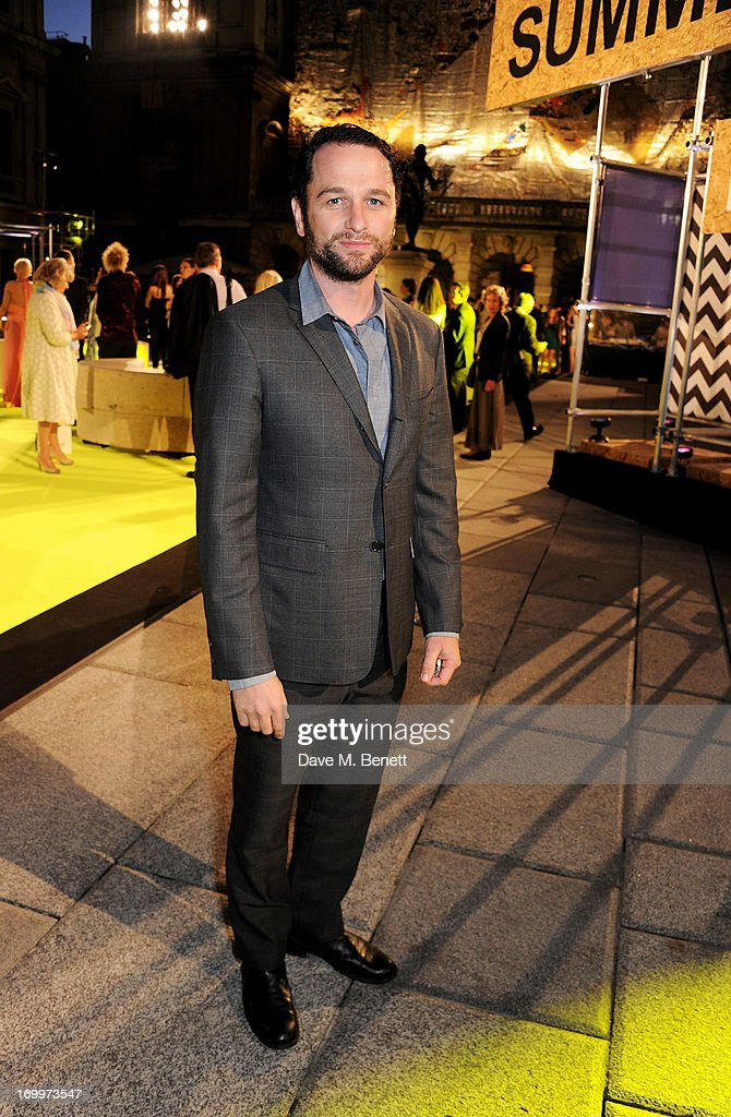 Matthew Rhys attends the preview party for The Royal Academy Of Arts Summer Exhibition 2013 at Royal Academy of Arts on June 5, 2013 in London, England.