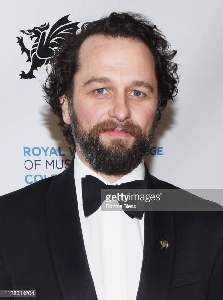 Matthew Rhys attends The Royal Welsh College of Music Drama 2019 Gala at The Rainbow Room on March 1 2019 in New York City