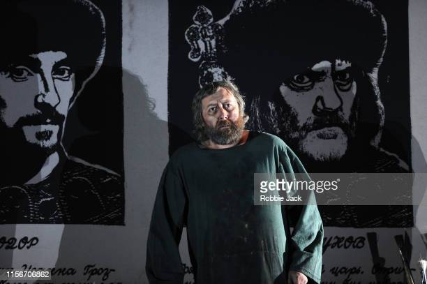 Matthew Rose as Pimen in The Royal Opera's production of Modest Musorgsky's Boris Godunov directed by Richard Jones and conducted by Marc Albrecht at...