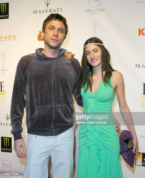 Matthew Ross and Arden Wohl during 5th Annual Tribeca Film Festival 'Journey to the End of the Night' After Party at PM Lounge in New York City New...