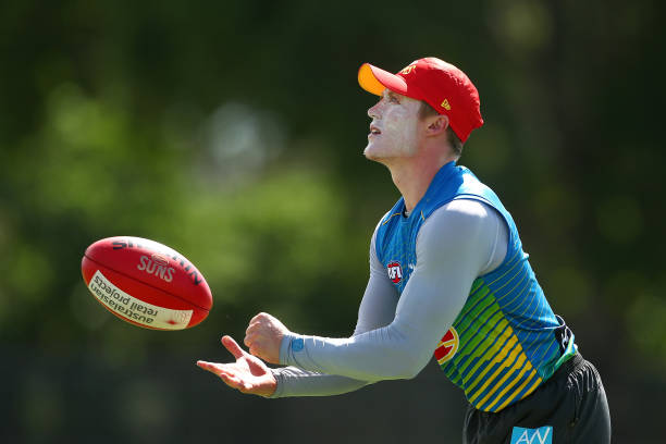 AUS: Gold Coast Suns AFL Training Session