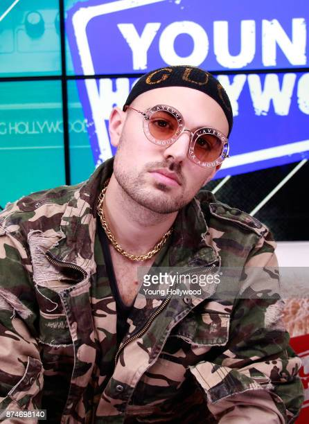 Matthew Russel from Cheat Codes visits the Young Hollywood Studio on November 15 2017 in Los Angeles California