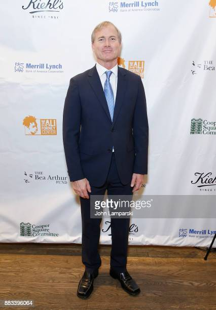 Matthew Saks attends The Bea Arthur Residence Building dedication on November 30, 2017 in New York City.