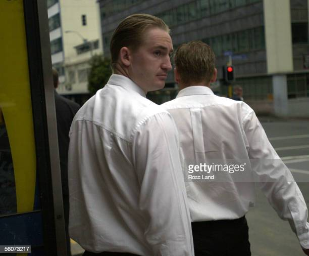 Matthew Schofield leaves the Auckland District Court after facing two charges of manslaughter and causing bodily harm with disregard for the safety...