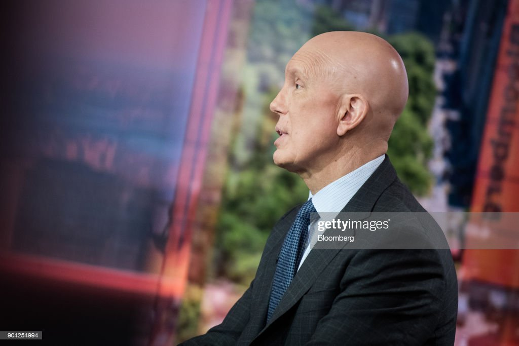 Matthew Shay, president and chief executive officer of the National Retail Federation Inc., speaks during a Bloomberg Television interview in New York, U.S., on Friday, Jan. 12, 2018. The final numbers are in, and the past holiday season was indeed one of the best since the last recession. Sales rose 5.5 percent to $691.9 billion during November and December, the National Retail Federation said Friday. Photographer: Mark Kauzlarich/Bloomberg via Getty Images