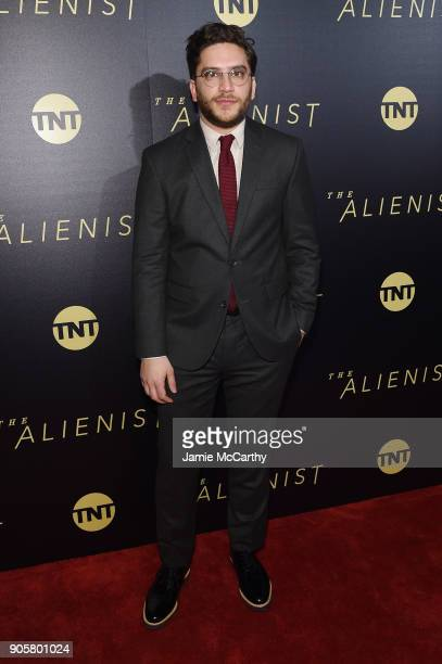 Matthew Shear attends the premiere of TNT's 'The Alienist' at iPic Cinema on January 16 2018 in New York City