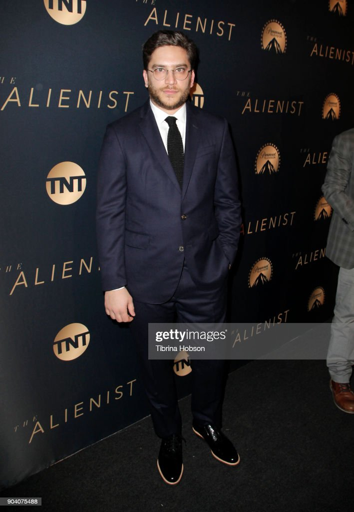 Matthew Shear attends the premiere of TNT's 'The Alienist' on January 11, 2018 in Los Angeles, California.