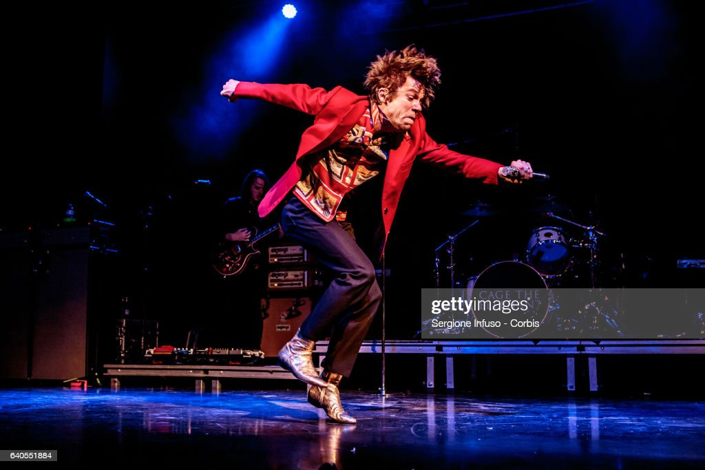 Cage The Elephant Perform In Milan