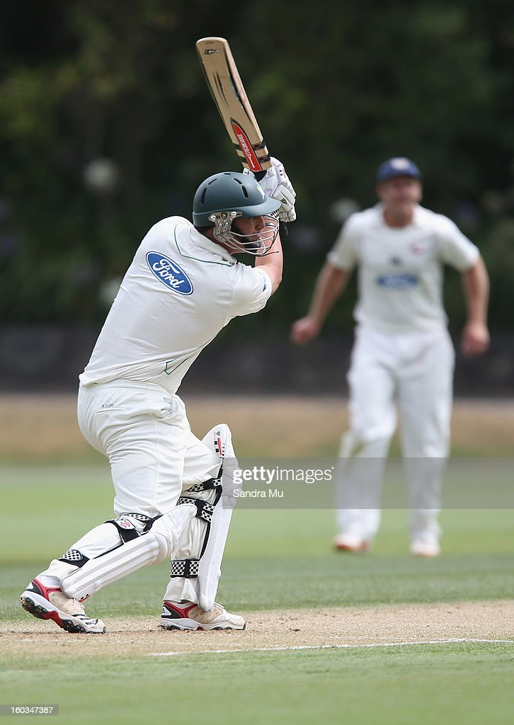 Plunket Shield - Auckland Aces v Central Stags