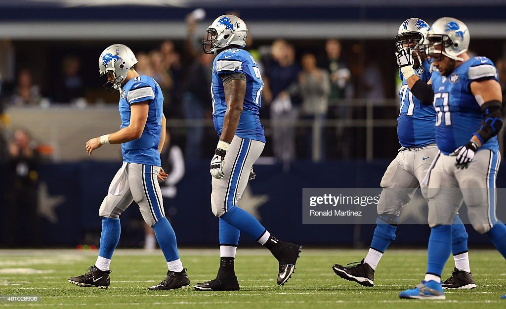 Wild Card Playoffs - Detroit Lions v Dallas Cowboys : News Photo