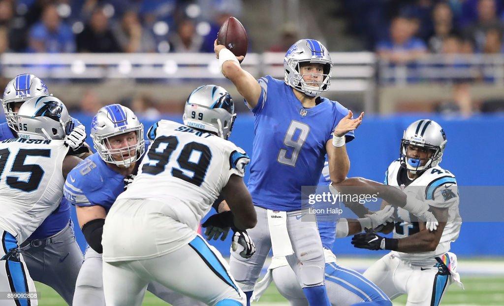 Carolina Panthers v Detroit Lions : News Photo