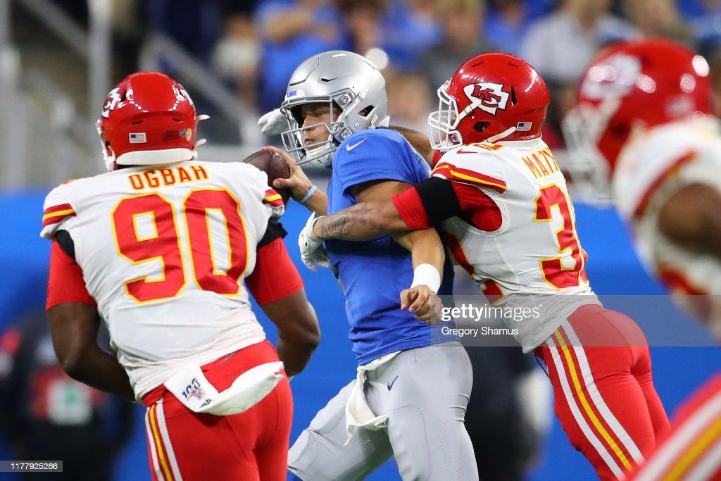 Kansas City Chiefs vDetroit Lions : ニュース写真