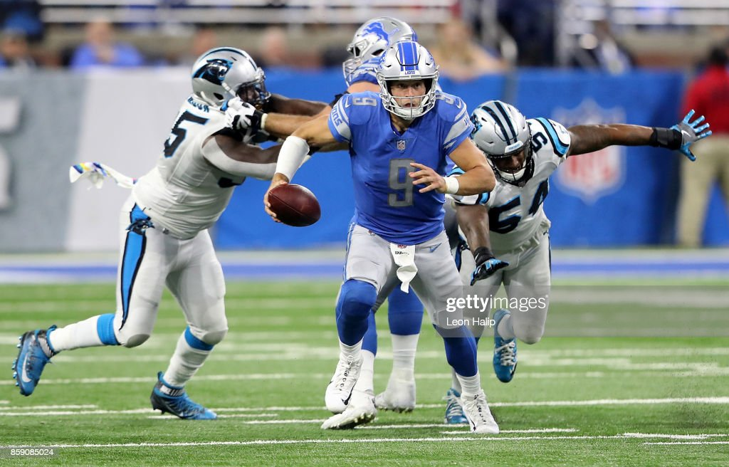 Carolina Panthers v Detroit Lions : News Photo
