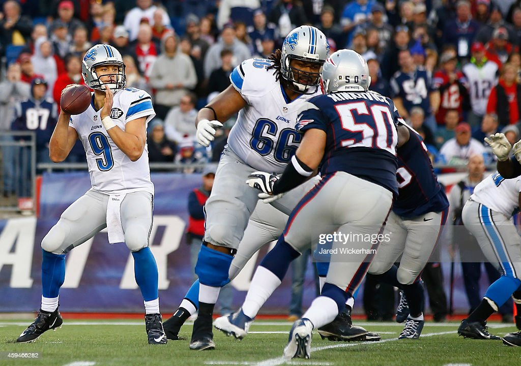 Detroit Lions v New England Patriots : News Photo