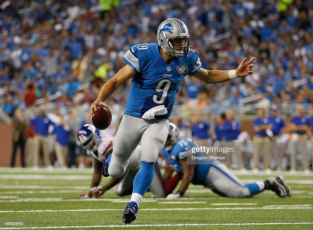 New York Giants v Detroit Lions : News Photo
