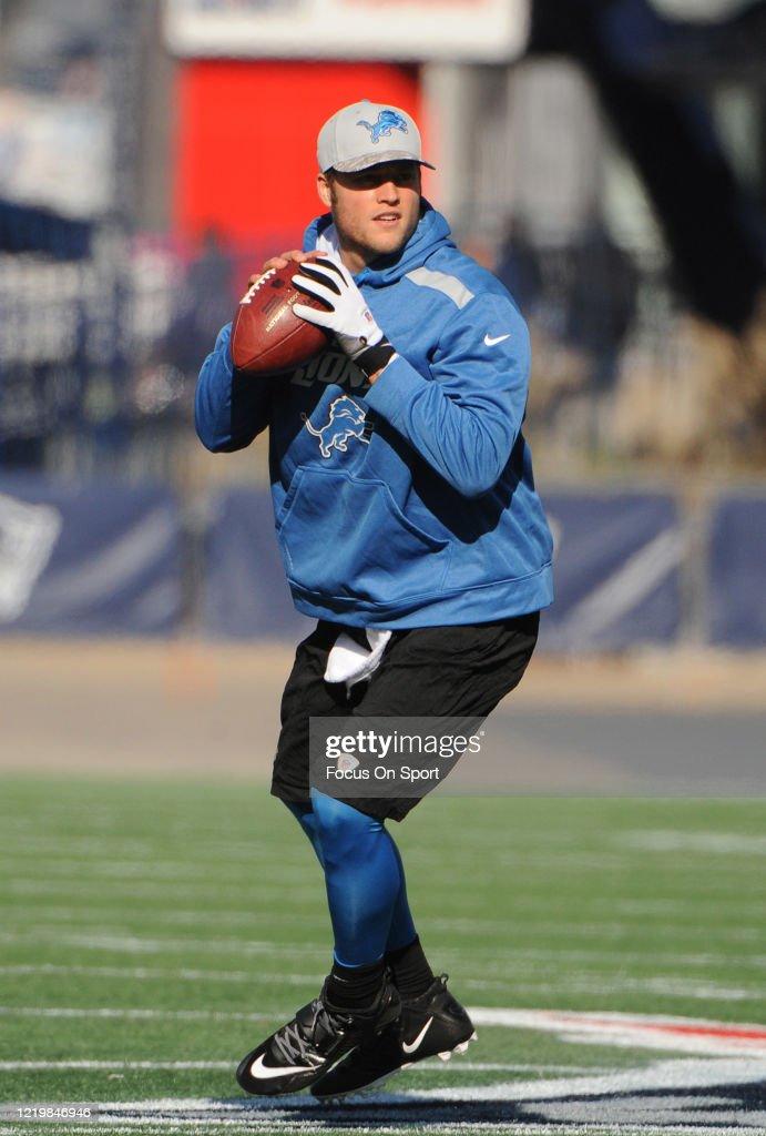Detroit Lions v New England Patriots : ニュース写真