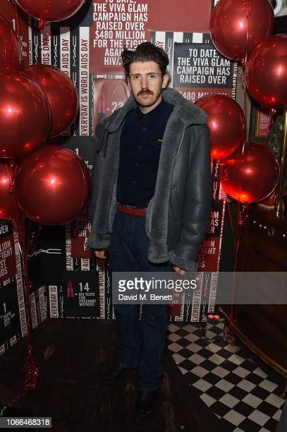 Matthew Stone attends MAC party celebrating World Aids Day on November 29 2018 in London England