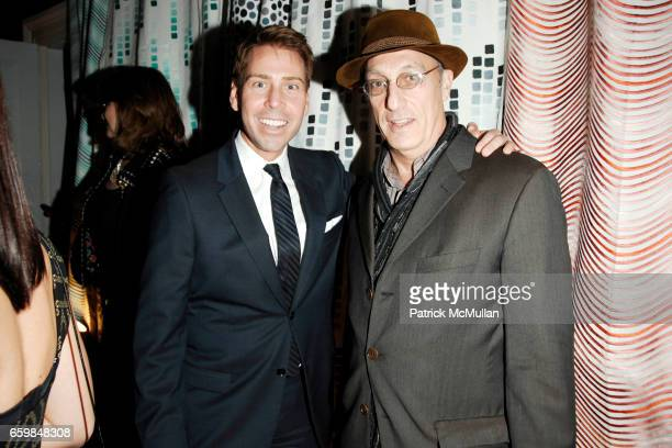 Matthew Talomie and Peter Rosenthal attend Launch Party for AMY LAU's Newest Collection for S HARRIS at The Norwood Club on November 16 2009 in New...