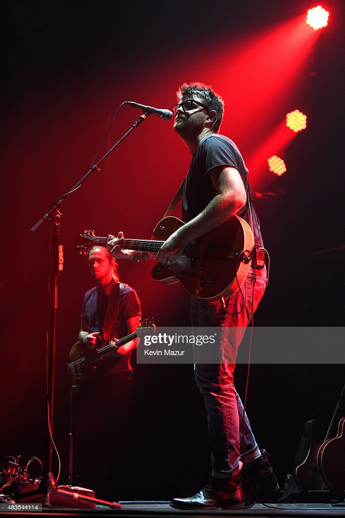 Matthew Thornton of Vinyl Station performs onstage at Beacon Theatre on August 8, 2015 in New York City.
