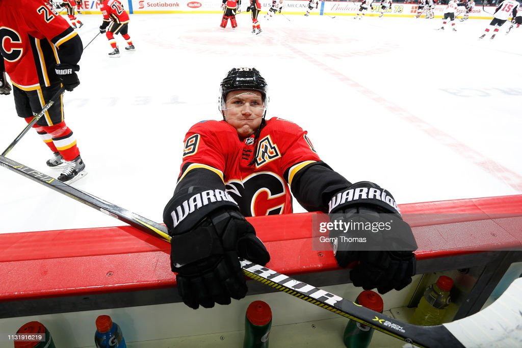 CAN: Ottawa Senators v Calgary Flames