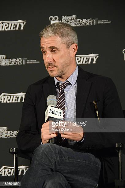 Matthew Tolmach attends the 2013 Variety Screening Series Presents Sony Pictures Classics' The Armstrong Lie at ArcLight Hollywood on October 23 2013...
