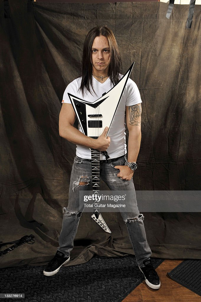 Matthew Tuck From Bullet For My Valentine, Musicbox Studios, Cardiff, March  5,