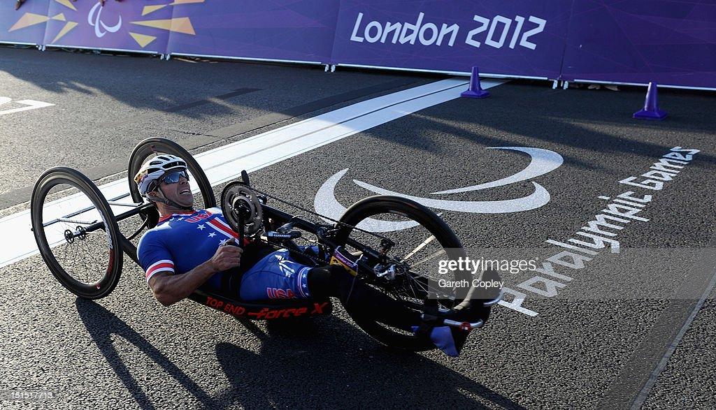 2012 London Paralympics - Day 10 - Cycling - Road : News Photo
