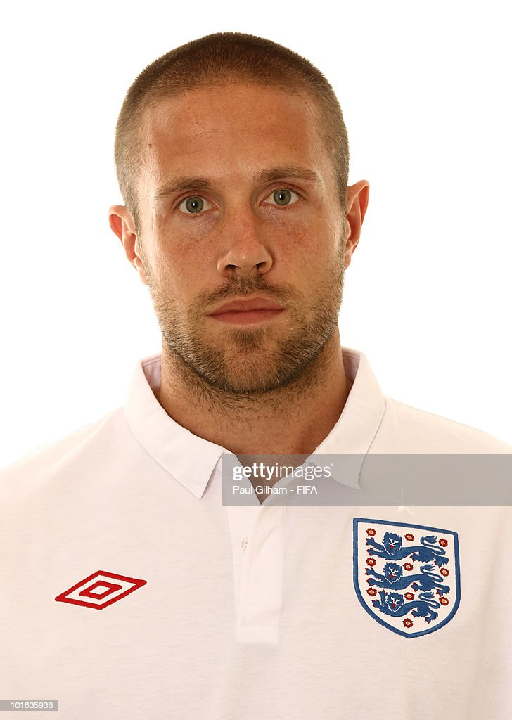 Matthew Upson of England poses during the official FIFA World Cup 2010 portrait session on June 4, 2010 in Rustenburg, South Africa.