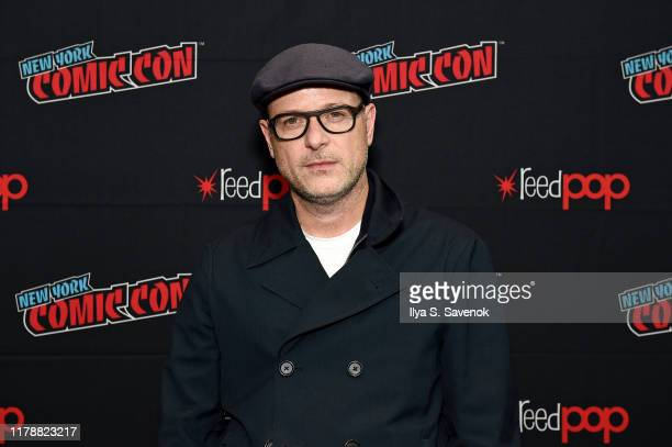 """Matthew Vaughn attends New York Comic Con in support of """"The King's Man"""" at The Jacob K. Javits Convention Center on October 03, 2019 in New York..."""