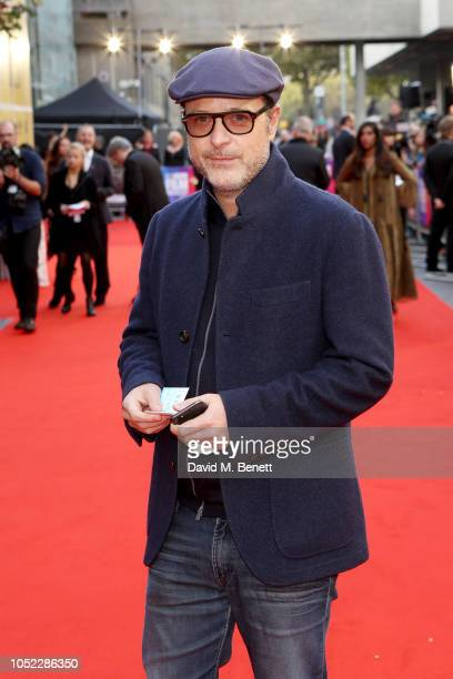"""Matthew Vaughn attends the World Premiere of """"They Shall Not Grow Old"""" at the 62nd BFI London Film Festival on October 16, 2018 in London, England."""