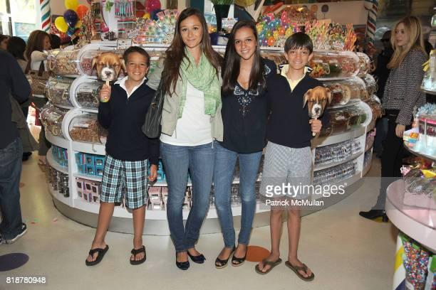 Matthew Vissicchio Alexandra Osipow Carly Vissicchio and Drew Vissicchio attend DYLAN'S CANDY BAR hosts 'Sweet Adoptions' for The ASPCA at Dylan's...