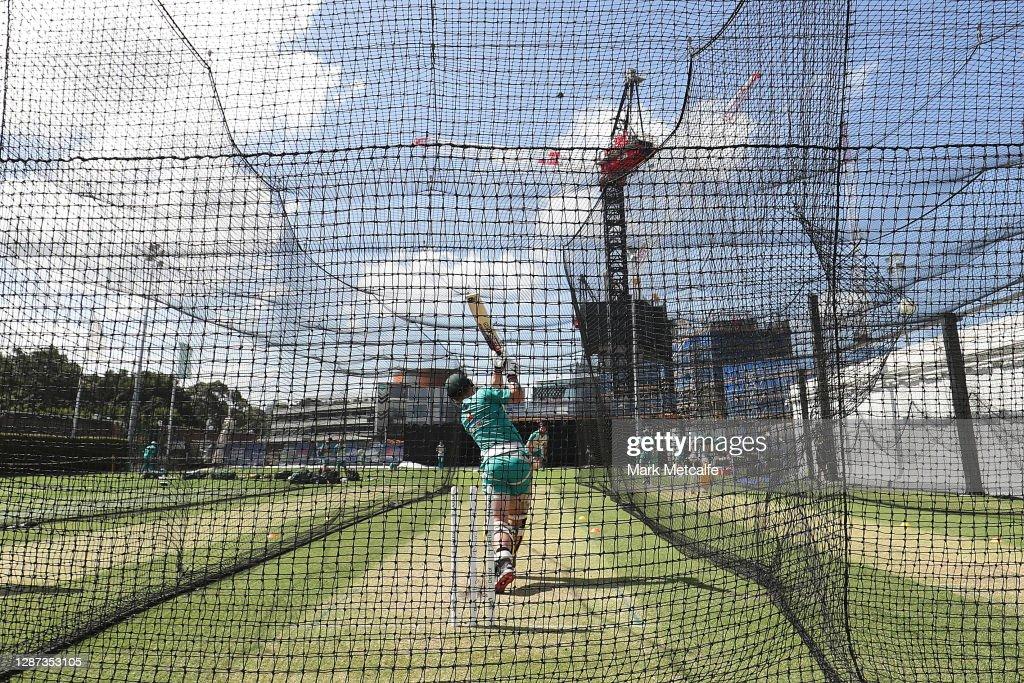 Australian ODI Nets Session : ニュース写真