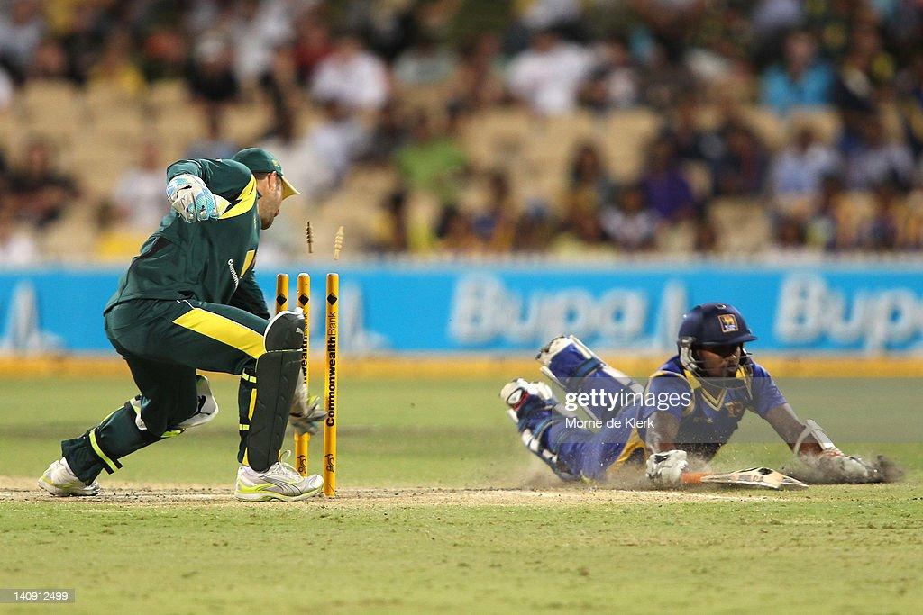 Australia v Sri Lanka - Tri-Series Final Game 3