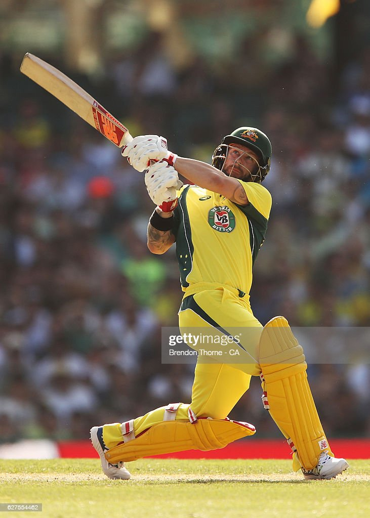 Australia v New Zealand - ODI Game 1