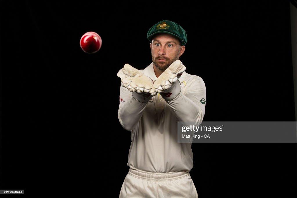 Australian Test Team Portrait Session : ニュース写真