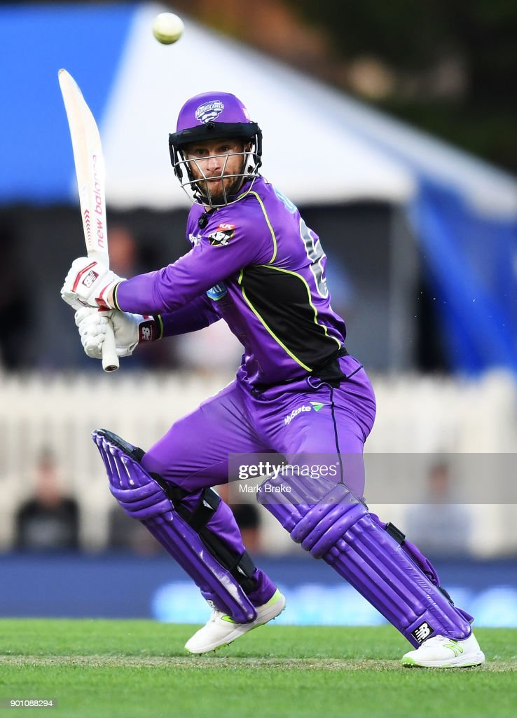 BBL - Hurricanes v Strikers : News Photo