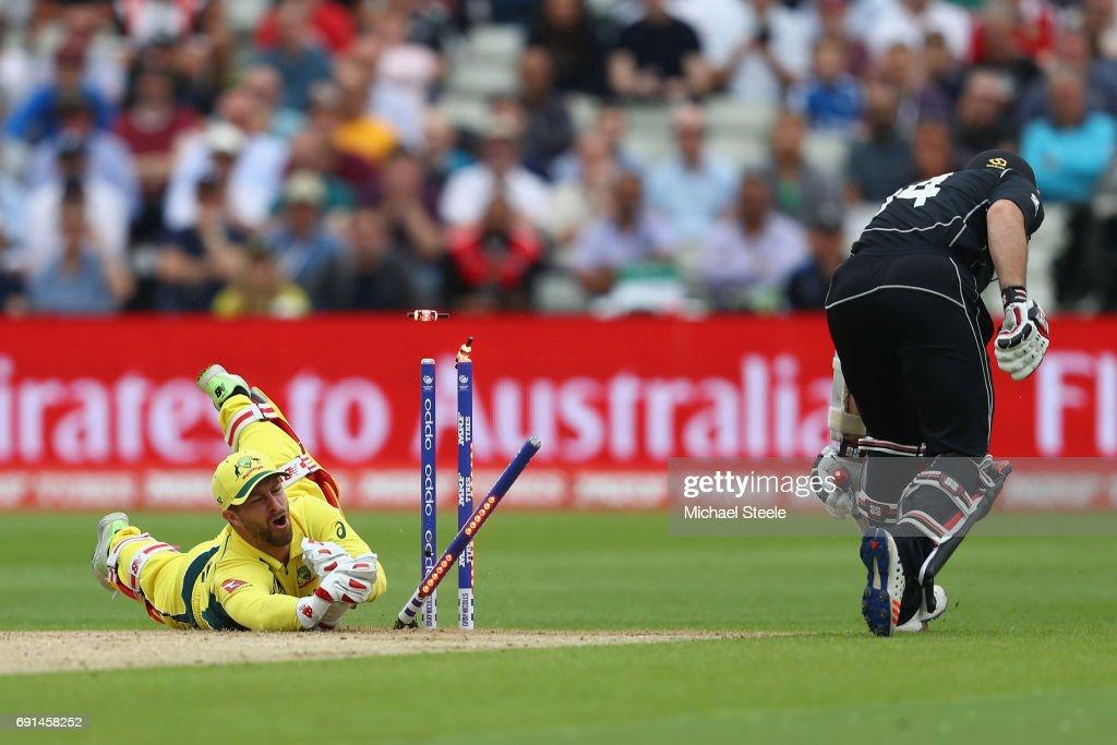 Australia v New Zealand - ICC Champions Trophy : ニュース写真