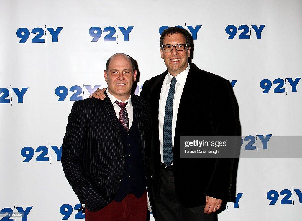 """92nd Street Y Presents: An Evening With """"Mad Men"""" Creator, Matthew Weiner"""