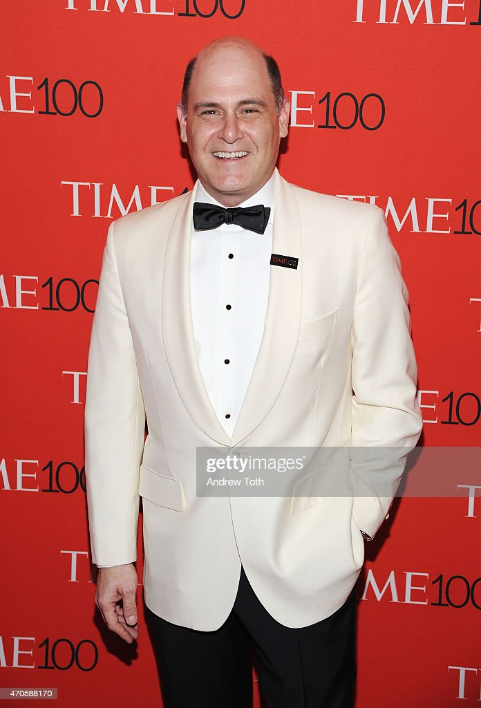 Matthew Weiner attends the 2015 Time 100 Gala at Frederick P. Rose Hall, Jazz at Lincoln Center on April 21, 2015 in New York City.